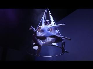 Люстра. Трио. Воздушная гимнастика и акробатика. Гимнастическое трио. Промо видео