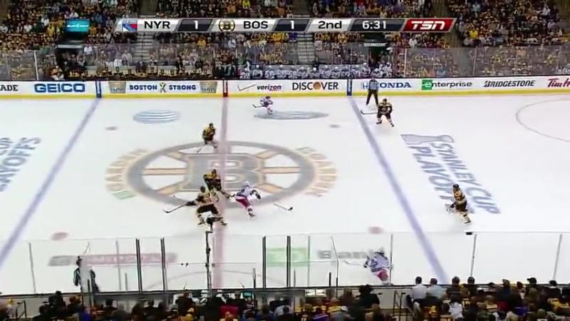 Stanley Cup Playoffs 2013 ECSF Game 5 New York Rangers-Boston Bruins
