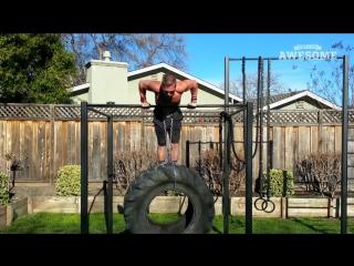 Люди удивительны! подборка отборных фитнес-трюков