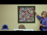 ПАЗЗЛЫ.  Quilting Quickly Puzzle Pieces - A Wall Quilt with Batik Puzzle Pieces!