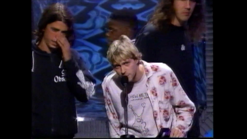 Nirvana - Lithium (Live at the MTV Video Music Awards 1992 )1080p HD