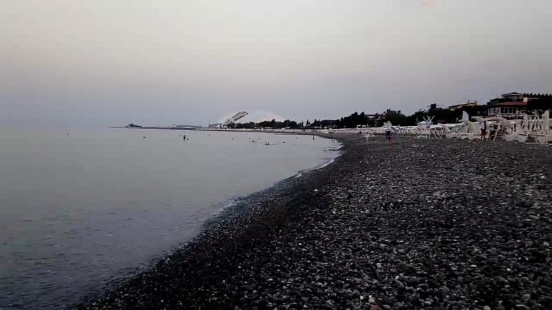 Утро на пляже