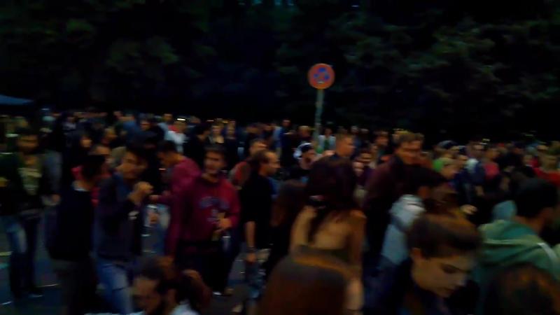Ганжа-парад за легализацию каннабиса. Берлин. Август 2017.