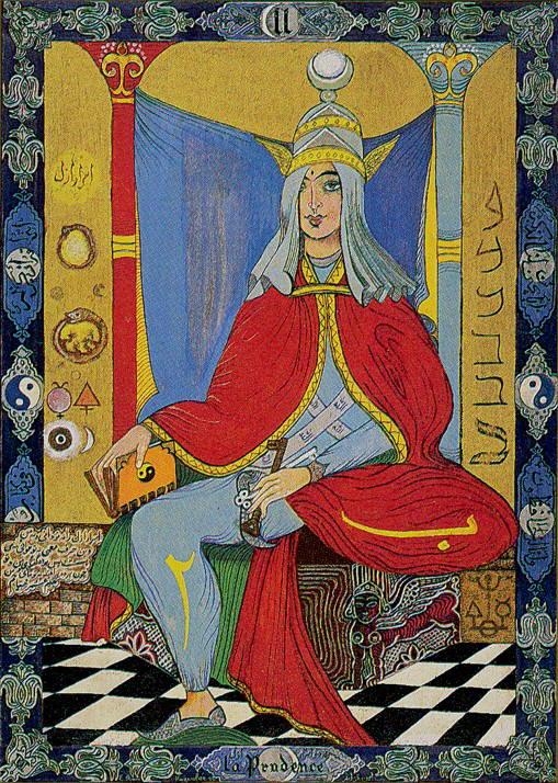 priestess tarot arcana