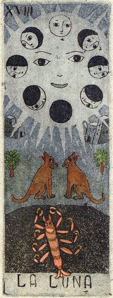 значение аркана таро кроули луна