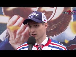 Вадим Шипачев на чемпионском параде СКА