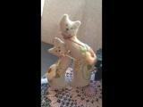 Романтичная парочка котиков! В технике объёмная вышивка.🌺