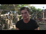 Zac Efron Mens Fitness behind the scenes