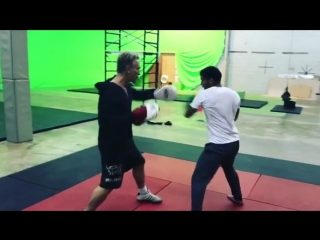 d.l.castroBack in the Shadowhunters Dojo! Thank you Dean Copkov, Max White and the rest of the stunt crew for helping me get bac