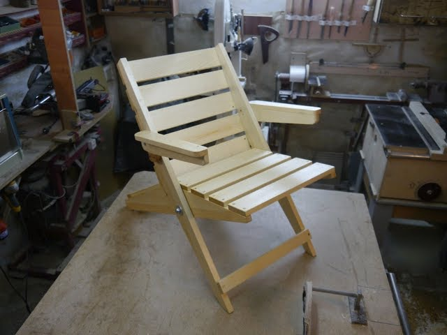 Кресло для дачи Homemade chair