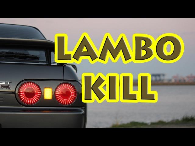 600HP R32 GTR Lambo kill lambo GTR nottodayjr