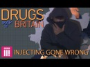 Injecting Gone Wrong Swansea Drugs Map of Britain