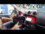 2017 Smart Car Kenwood double din install