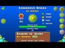 Dangerous Spikes | Geometry Dash | By: Decody