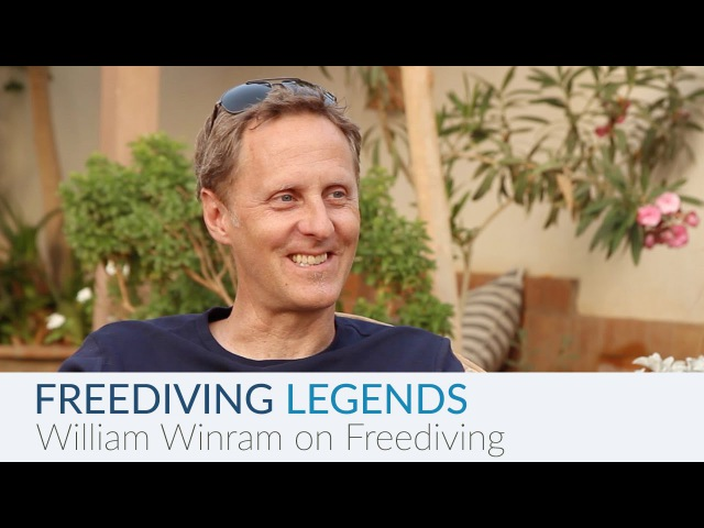 Freediving Legends William Winram on Freediving