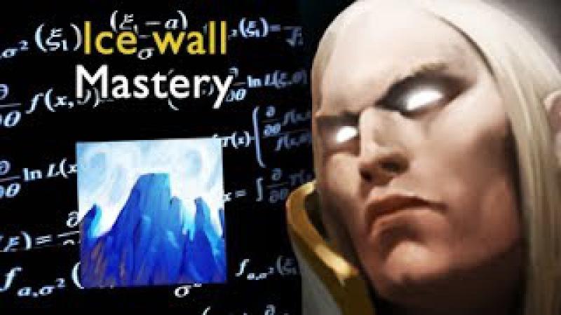 Sumiya Ice wall mastery The best Invoker in the world Dota 0 0 06d Gameplay
