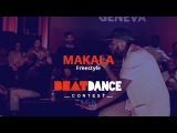Beatdance Contest 2017 GENEVA - Makala Rap Freestyle