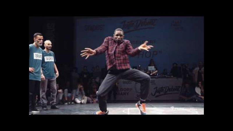 Juste Debout 2017 Germany | Hip Hop 1/4 | Ukay Majid vs Baron Albert