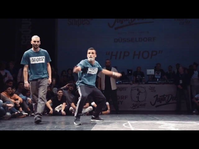 Juste Debout 2017 Germany | Hip Hop Final | Ukay Majid vs Surena Beli Shithappenz