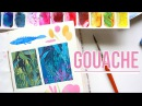 Painting with GOUACHE!