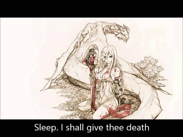 Drakengard 3 OST ~ 32 - The Final Song ~ Black Song, White Scales