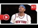 Carmelo Anthony Full Highlights vs Suns (2017.01.21) - 31 Pts, 7 Reb, Loses AGAIN!