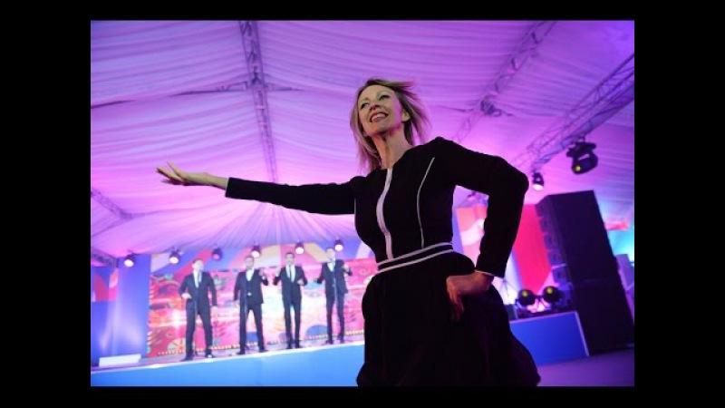 Maria Zakharova Russian folk dance. Kalinka-malinka 2016