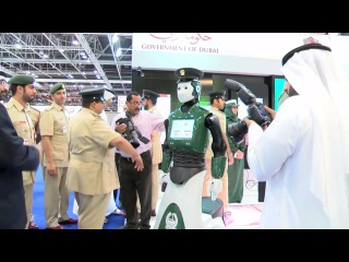 World's first operational Robocop hits the streets as Dubai builds robot police force