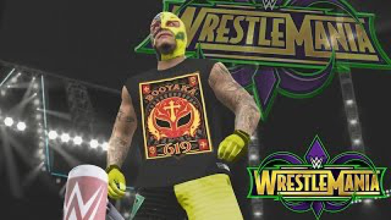 WWE 2K17 Story - The Rise of Rey Mysterio Trailer (Rey Mysterio, Sin Cara Kalisto)