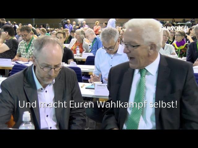 Ihr habt keine Ahnung! Kretschmann rechnet mit Hofreiter und Bundestagsfraktion ab