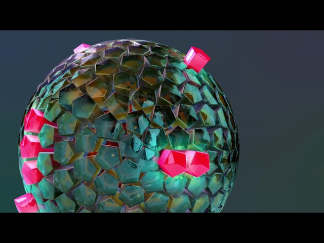 Crytals soundeffector C4D