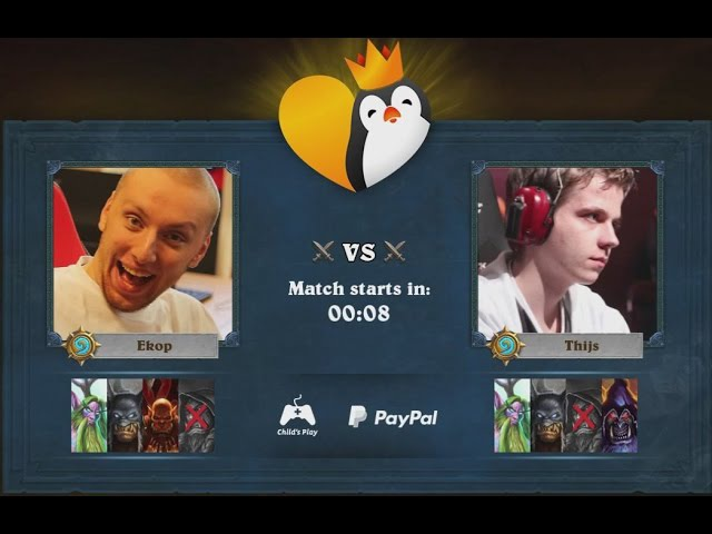 Ek0p vs Thijs - 2016 Kinguin for Charity Invitational - Round 2