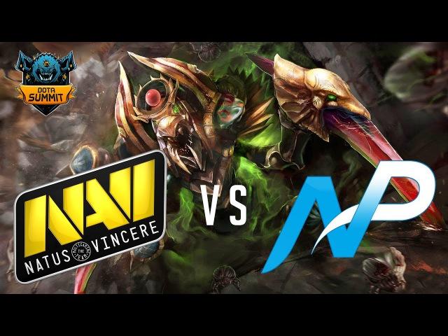 Игра на вылет с турнира. Navi против NP | The Summit 7