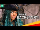 Uma's Backstory! - Ursula's Necklace, Crew and Hatred for Mal: Descendants 2