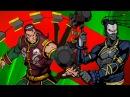 НЕ ПОБЕДИМАЯ ТЕНЬ мультик игра Shadow Fight 2 Бой с тенью 56 МАСТЕР ГУРУ Пандемия Морок Хлыст КИД