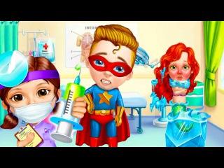 Больница для Супергероев/SuperHero Hospital.Стань Суперврачом.Играем в Доктора.Мультики...