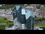 Видео заброшенных зданий в Москве с квадрокоптера DJI Mavic Pro | Синий зуб | Ховринска...
