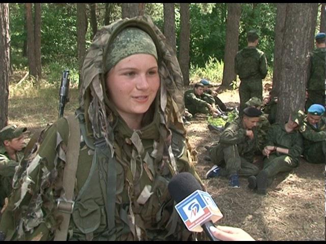 Учения Курсантов военно-патриотических клубов