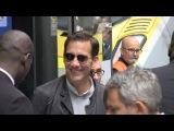 EXCLUSIVE Clive Owen and Dane Dehaan arriving at Gare du Nord for Valerian premiere in Paris