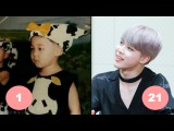 Jimin BTS Childhood  From 1 To 21 Years Old