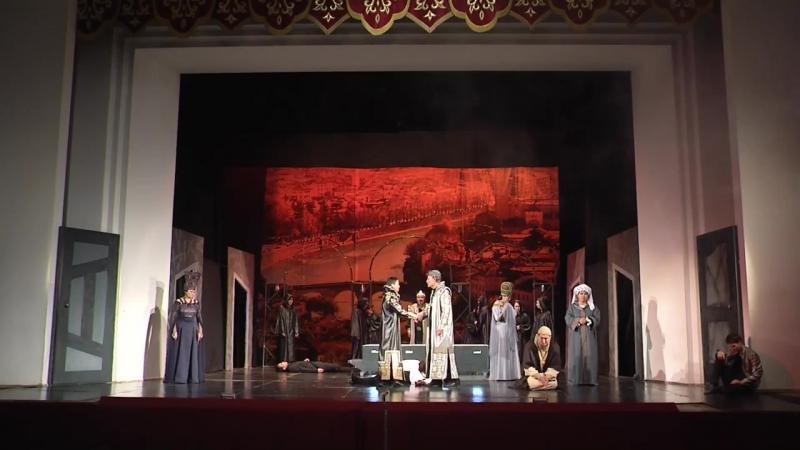 У.Шекспир Ромео мен Джульетта трагедия Б.Римова атындағы Талдықорған драма театры
