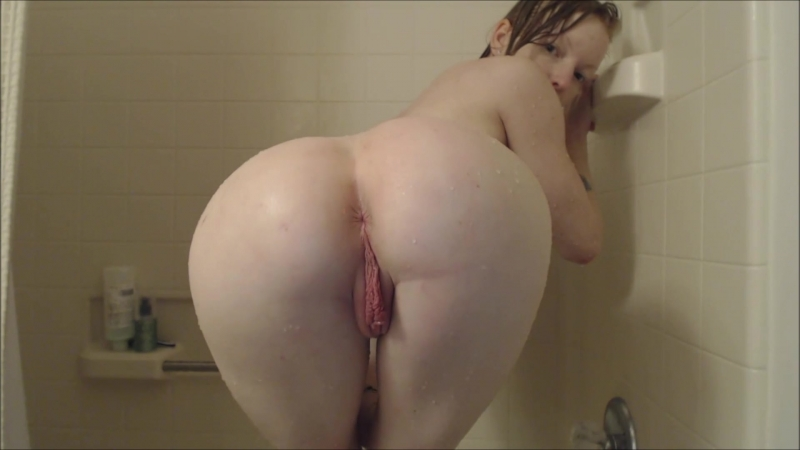 Amateur makes shower and bedroom porn