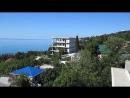 Крым. Алупка. Жильё. Вид с балкона. Июль 2017 г.
