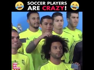 Футбольные шутники