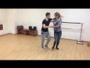 Импровизация после тренировки - Максим и Алина. svk/salsargut