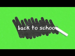 ФУТАЖ Back To School
