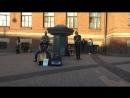 Evanescence - Tourniquet (The Railroads, уличные музыканты, Питер)