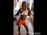 Old man dancing to work by rihanna