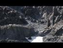 козы переход по скалам mountain goats in the Altai