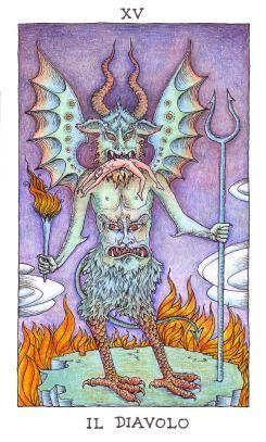 толкование значение карты таро дьявол 14 аркан тота алистера кроули